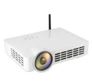 2000 Lumen Full HD Mini LED Projector – White