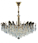 Ceiling Crystal Gold Chandelier