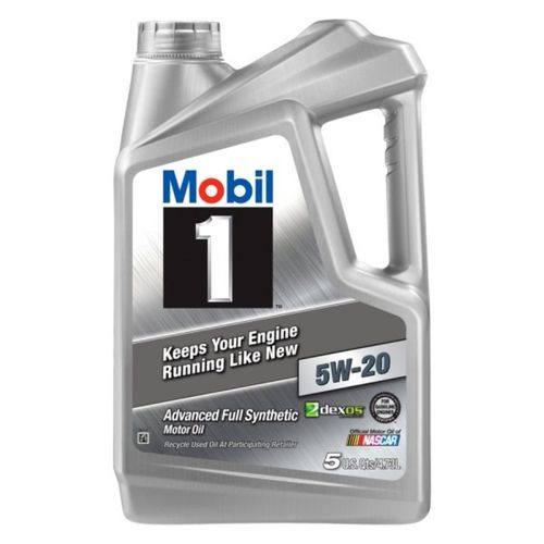 Mobil 1 5W-20 Advanced Full Synthetic Motor Oil 5 Liters