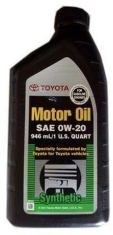 Toyota Engine Oil 0W-20 1-Litre Toyota Engine Oil 0W-20 1-Litre